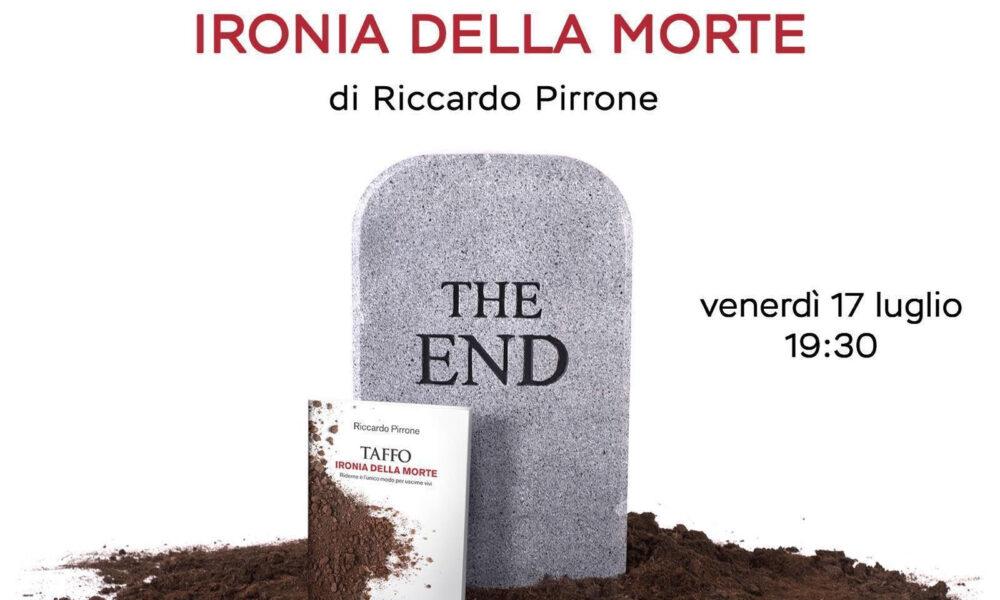 Invito evento del 17 luglio a Roma del libro Ironia della morte