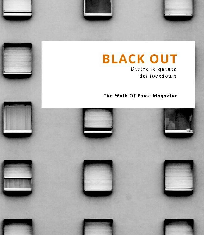 Copertina del libro Black Out The Walk of Dame Magazine