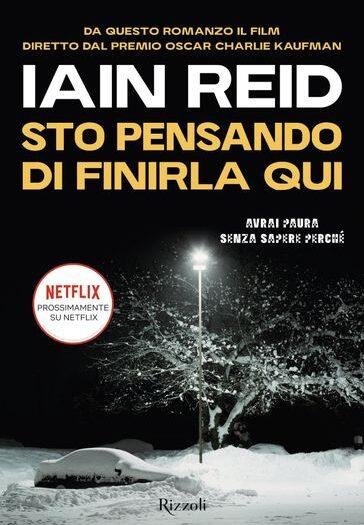 Copertina libro d'esordio di Iain Reid