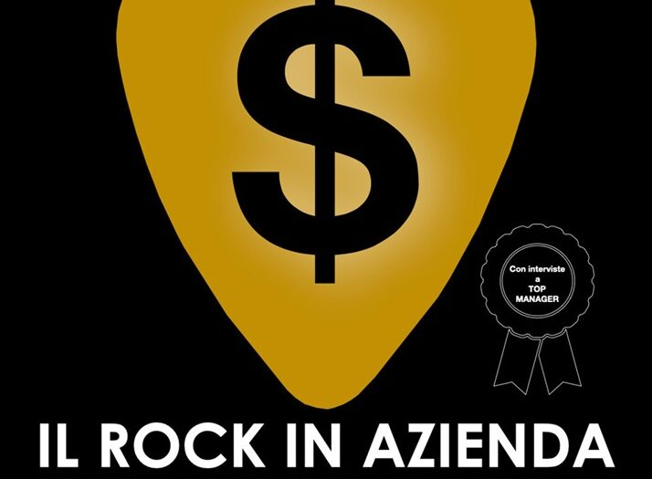 Copertina del libro Il Rock in Azienda